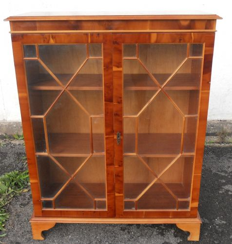 Yew Cabinet Bookcase